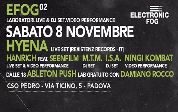 Efog 02 with hyena pedro padova frequencies for Pedro padova