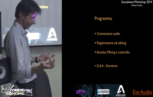 Video workshop: dall'acquisizione al mixing (part. 3)